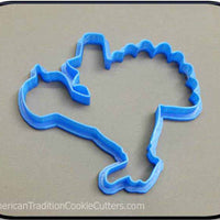 "4.5"" Turkey with Pumpkin 3D Printed Plastic Cookie Cutter-americantraditioncookiecutters"