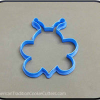 "4.25"" Bee Woodland Creature 3D Printed Plastic Cookie Cutter-americantraditioncookiecutters"