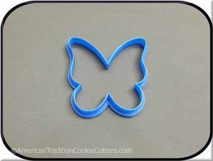 "4"" Butterfly 3D Printed Plastic Cookie Cutter - American Tradition Cookie Cutters"