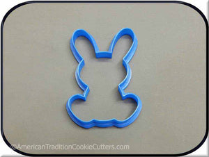 "4.5"" Bunny Rabbit 3D Printed Plastic Cookie Cutter"