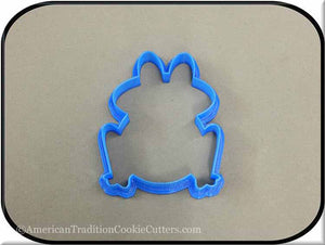 "4"" Frog 3D Printed Plastic Cookie Cutter-americantraditioncookiecutters"