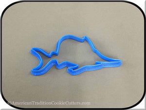 "5"" Swordfish 3D Printed Plastic Cookie Cutter-americantraditioncookiecutters"