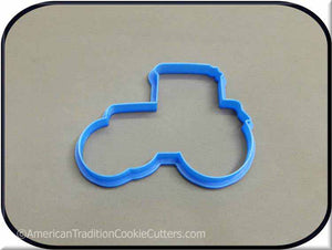 "4.5"" Tractor 3D Printed Plastic Cookie Cutter-americantraditioncookiecutters"