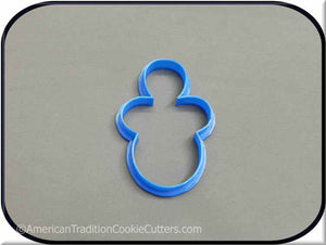 "3.5"" Baby Pacifier 3D Printed Plastic Cookie Cutter - American Tradition Cookie Cutters"