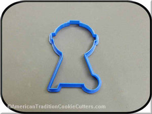 "4"" Barbecue Grill 3D Printed Plastic Cookie Cutter - American Tradition Cookie Cutters"
