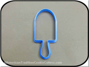 "4.75"" Popsicle 3D Printed Plastic Cookie Cutter-americantraditioncookiecutters"