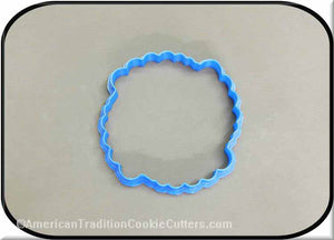 "4"" Plaque 3D Printed Plastic Cookie Cutter-americantraditioncookiecutters"