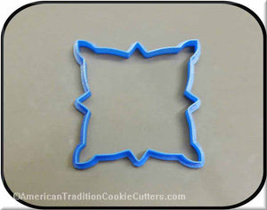 "5.75"" Plaque 3D Printed Plastic Cookie Cutter-americantraditioncookiecutters"