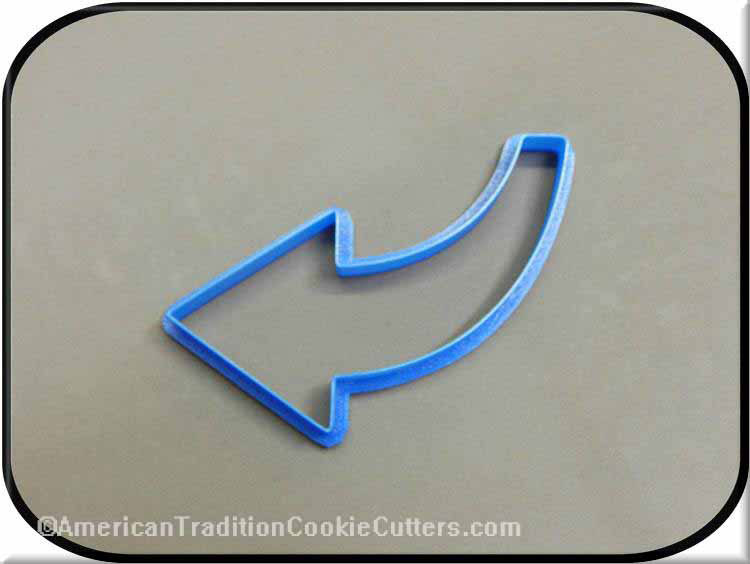 "5"" Arrow 3D Printed Plastic Cookie Cutter"