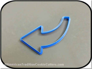 "5"" Arrow 3D Printed Plastic Cookie Cutter-americantraditioncookiecutters"