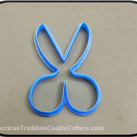 "4.75"" Scissors 3D Printed Plastic Cookie Cutter-americantraditioncookiecutters"