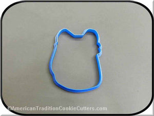 "4.25"" School Backpack 3D Printed Plastic Cookie Cutter-americantraditioncookiecutters"