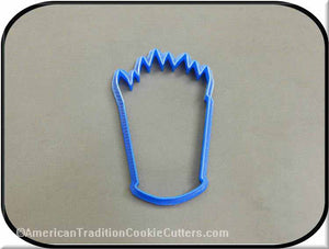 "4"" Pencil Holder 3D Printed Plastic Cookie Cutter-americantraditioncookiecutters"