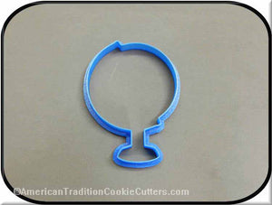 "4"" Globe 3D Printed Plastic Cookie Cutter"
