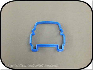 "3.75"" Car 3D Printed Plastic Cookie Cutter"