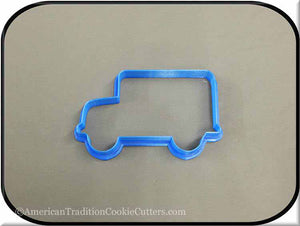 "4.5"" School Bus 3D Printed Plastic Cookie Cutter"