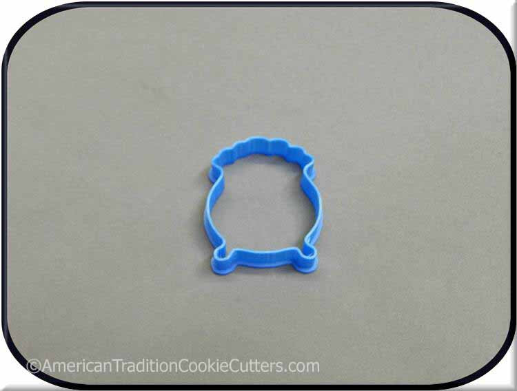 "2"" Mini Pot O Gold 3D Printed Plastic Cookie Cutter - American Tradition Cookie Cutters"