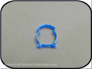 "2"" Mini Pot O Gold 3D Printed Plastic Cookie Cutter-americantraditioncookiecutters"