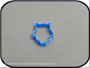 "2"" Mini Owl 3D Printed Plastic Cookie Cutter - American Tradition Cookie Cutters"