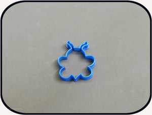 "2"" Mini Bee 3D Printed Cookie Cutter"