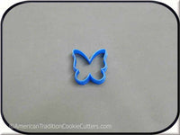 "1.75"" Butterfly 3D Printed Plastic Cookie Cutter - American Tradition Cookie Cutters"
