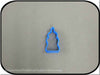 "2"" Mini Baby Bottle 3D Printed Plastic Cookie Cutter-americantraditioncookiecutters"