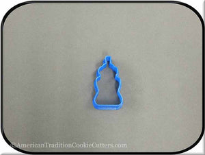 "2"" Mini Baby Bottle 3D Printed Plastic Cookie Cutter - American Tradition Cookie Cutters"