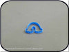 "2"" Mini Rainbow 3D Printed Plastic Cookie Cutter - American Tradition Cookie Cutters"