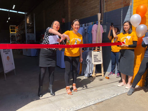 Pets of the Homeless (Australia) - opening a new food bank in Cheltenham, Melbourne.