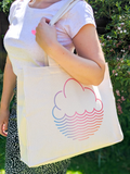 SS20 Cloudwater Large Tote Bag with Inner Pockets