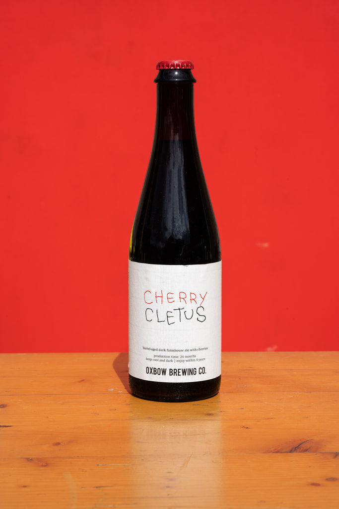 Oxbow - Cherry Cletus... [Barrel-Aged Dark Farmhouse Ale With Cherries]