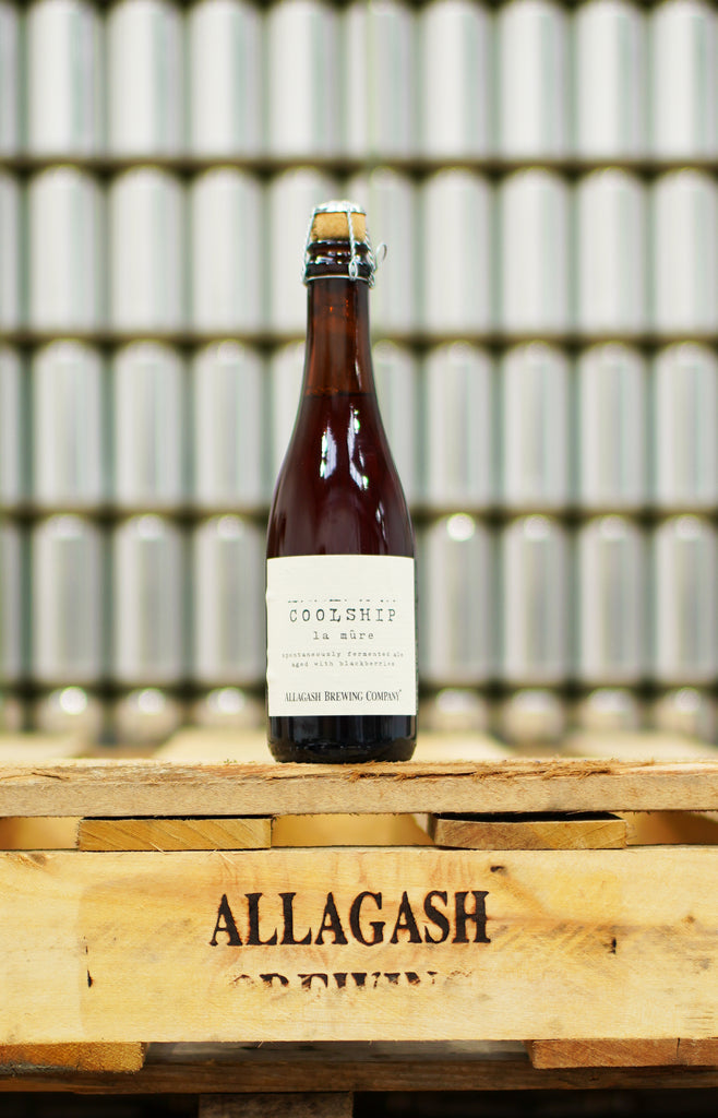 Allagash - Coolship La Mûre ... [Spontaneous Ale w/ Blackberries]
