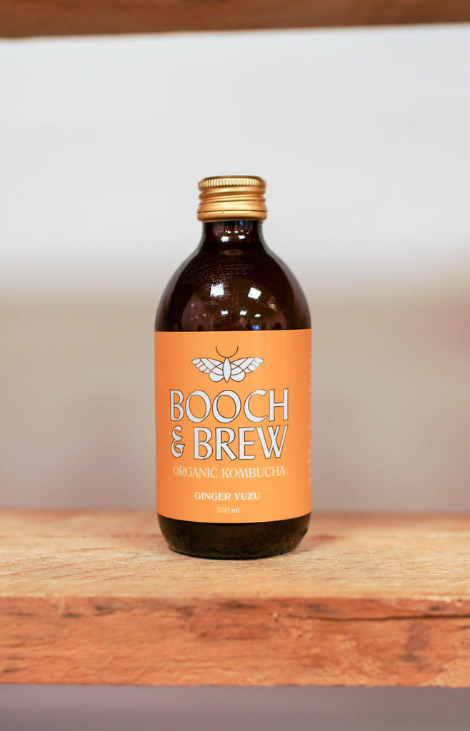 Booch & Brew Kombucha - Ginger and Yuzu ... [330ml]