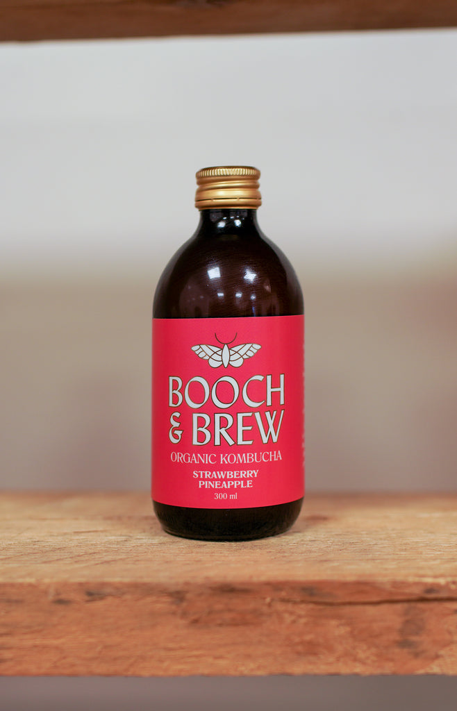Booch & Brew Kombucha - Strawberry & Pineapple ... [330ml]