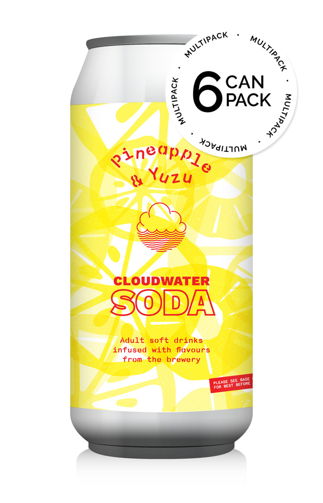 Pineapple & Yuzu Soda Pack ... [6-Pack]