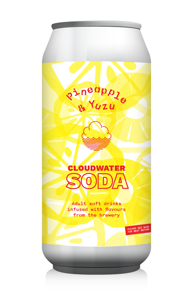 Pineapple & Yuzu Soda