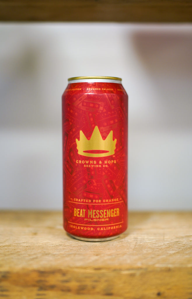 Crowns and Hops - Beat Messenger ... [Pilsner]