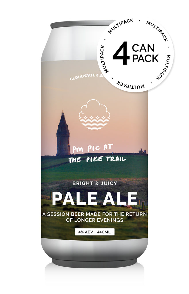 PM Pic At The Pike Trail ... [Bright & Juicy Pale Ale] ... [4-Pack]