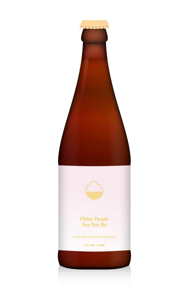 Other People Are Not Me ... [Blended Foudre Beer] ... 750ml