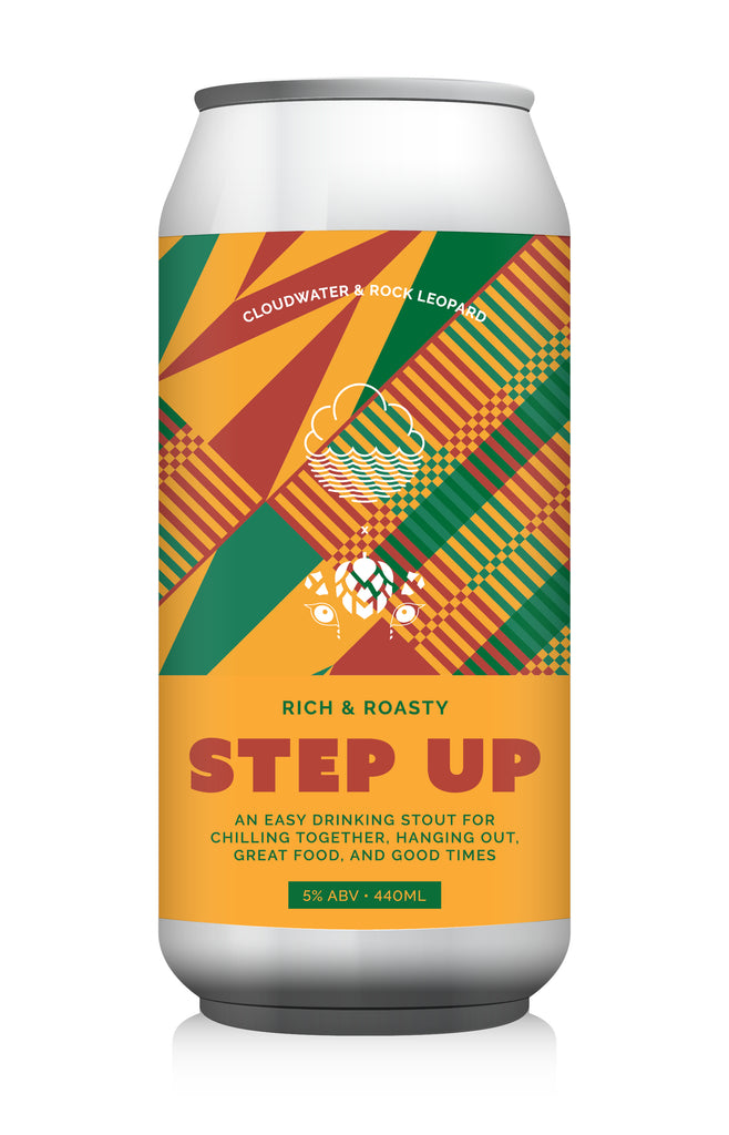 Step Up ... [Rich & Roasty Stout] ... [Collab w/ Rock Leopard]