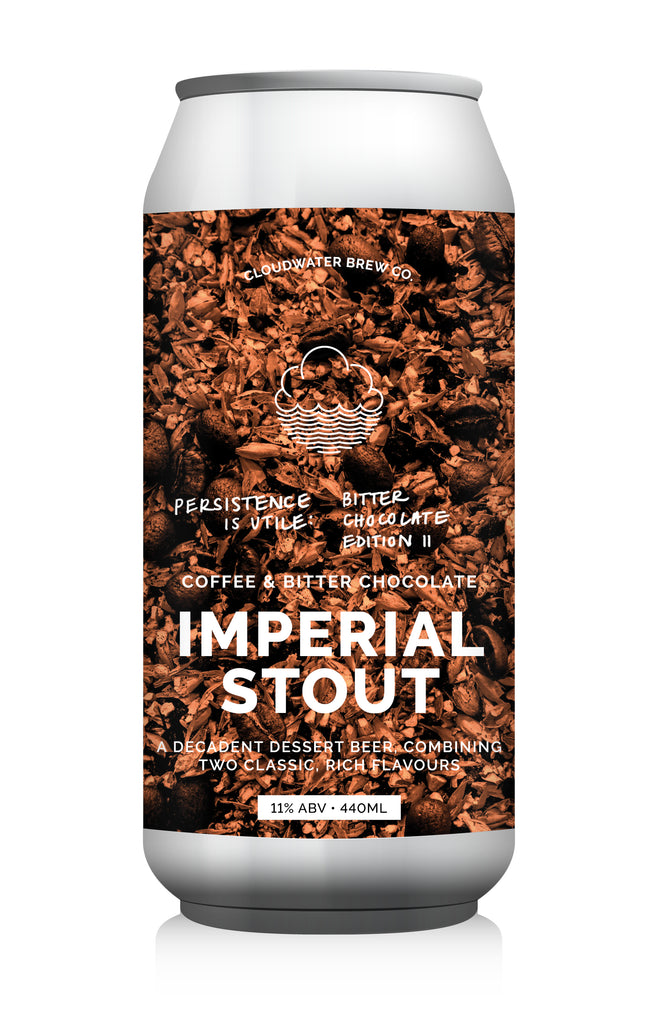 Persistence Is Utile: Bitter Chocolate Edition II ... [Imperial Stout w/ Cacao, Coffee & Vanilla]