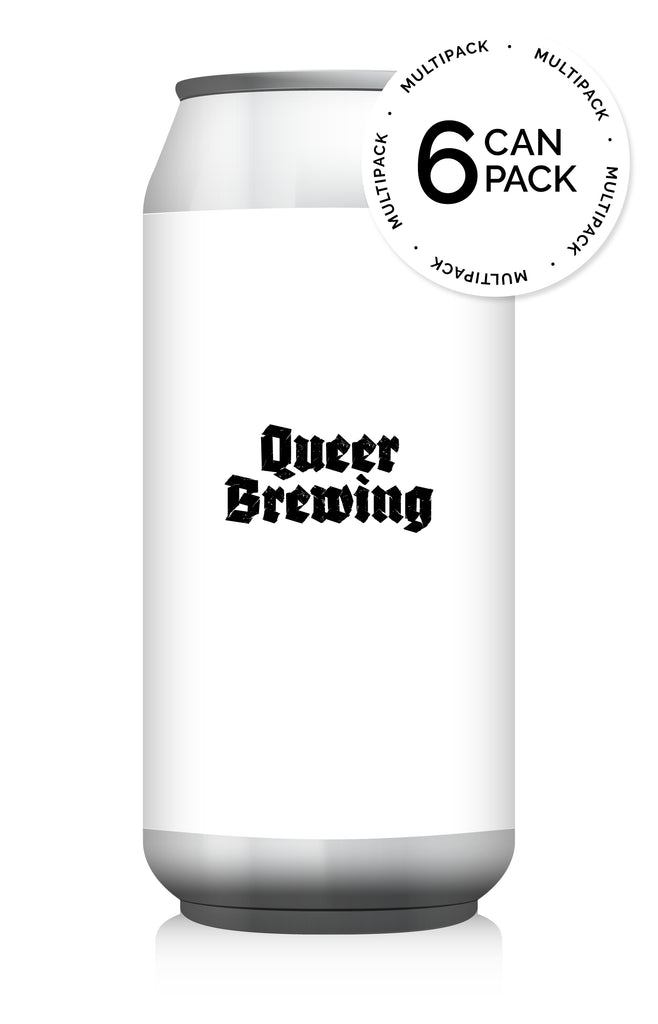Queer Brewing Pack ... [6 Beers + Glass + Badge + Sticker] ... [9-PACK]