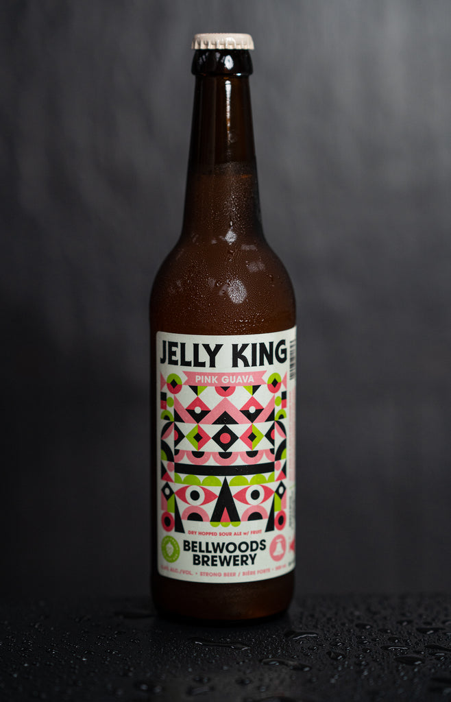 Bellwoods - Jelly King (Pink Guava) ... [Dry-Hopped Sour w/ Pink Guava]