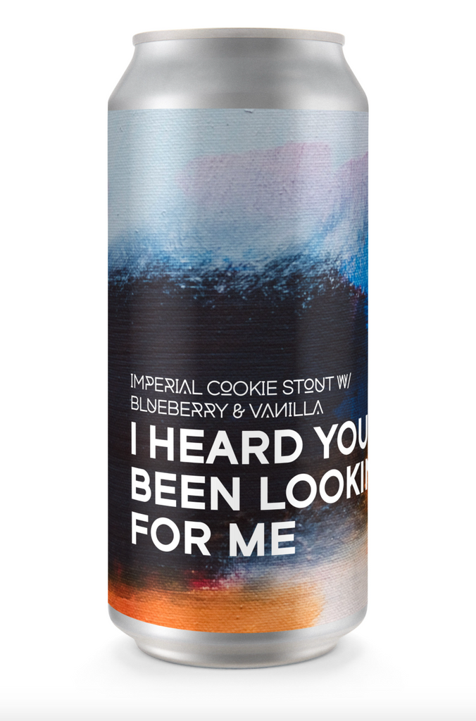 Boundary - I Heard You've Been Looking For Me ... [Imperial Cookie Stout w/ Blueberry & Vanilla]