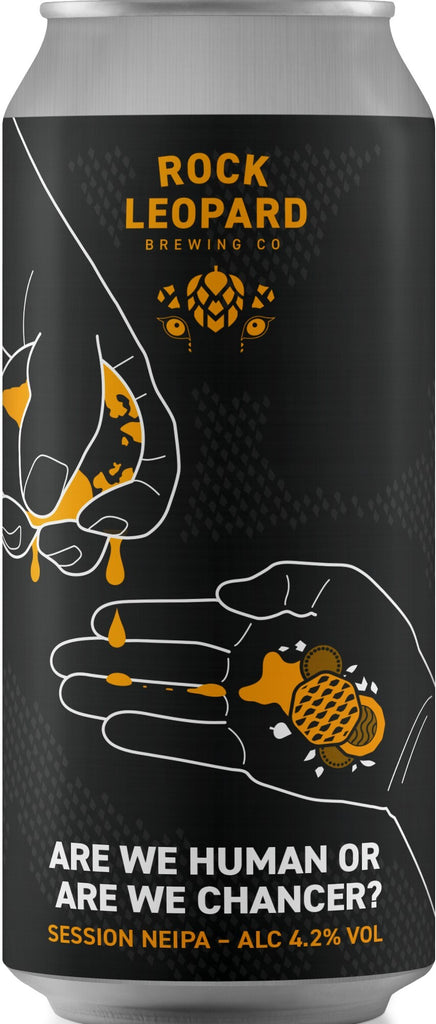 Rock Leopard - Are We Human or Are We Chancer? ... [Session NEIPA]