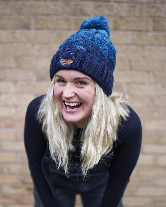 Cloudwater Cuffed Ombré Bobble Hat ... [New Design]