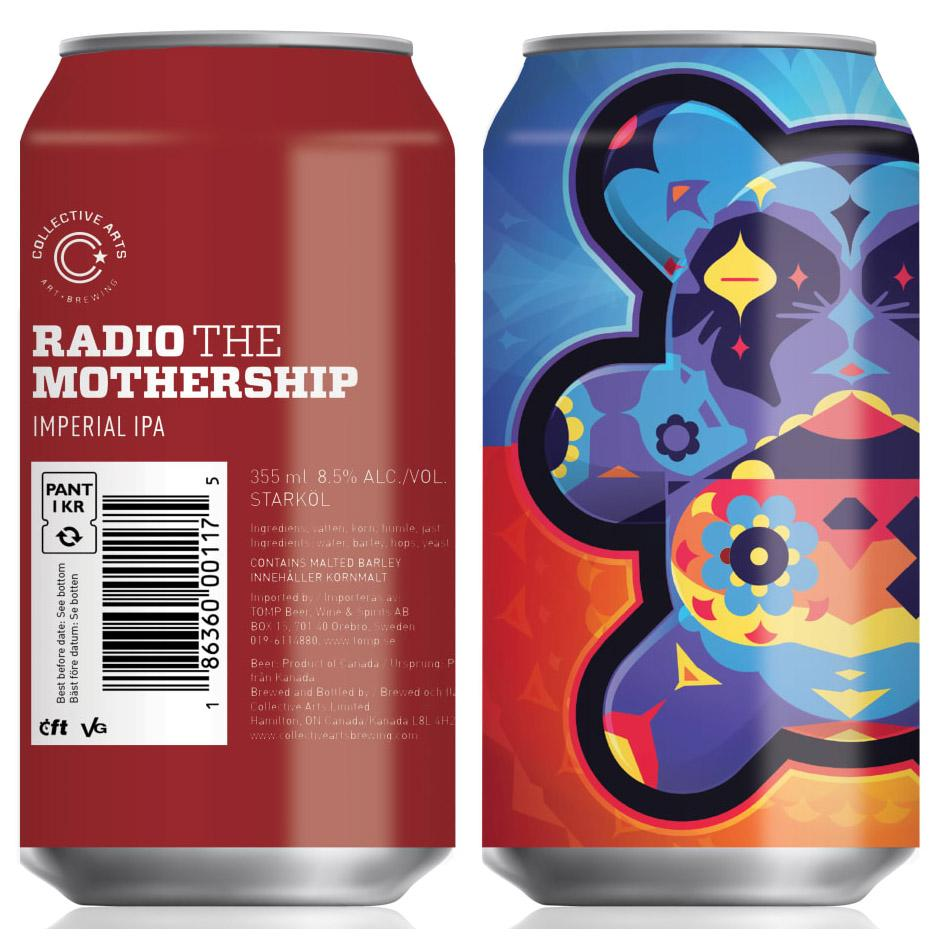 Collective Arts - Radio The Mothership ... [Imperial IPA]