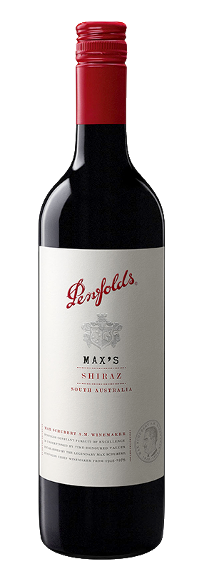 $156.00 per case (6) delivered - PENFOLDS MAX'S Shiraz 2018