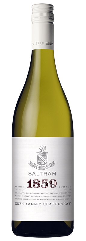 $96.00 per case (6) delivered - SALTRAM 1859 Chardonnay 2017