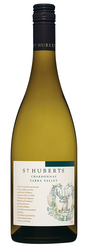 $126.00 per case (6) delivered - ST HUBERTS Yarra Valley Chardonnay 2018